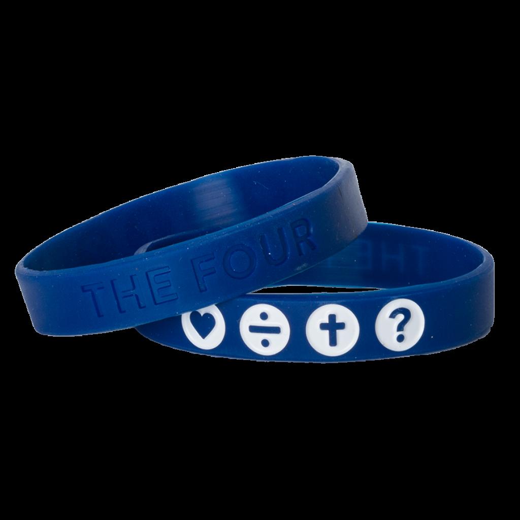Armband navy blau