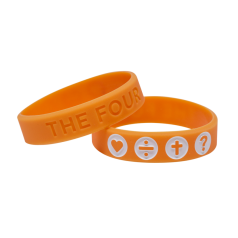 THE FOUR Armband orange