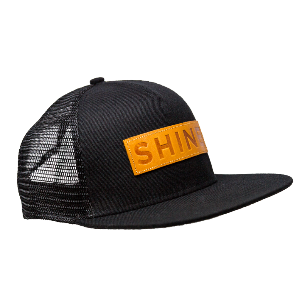 SHINE Mesh Cap Basic schwarz
