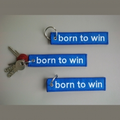 Schlüsselanhänger BORN TO WIN