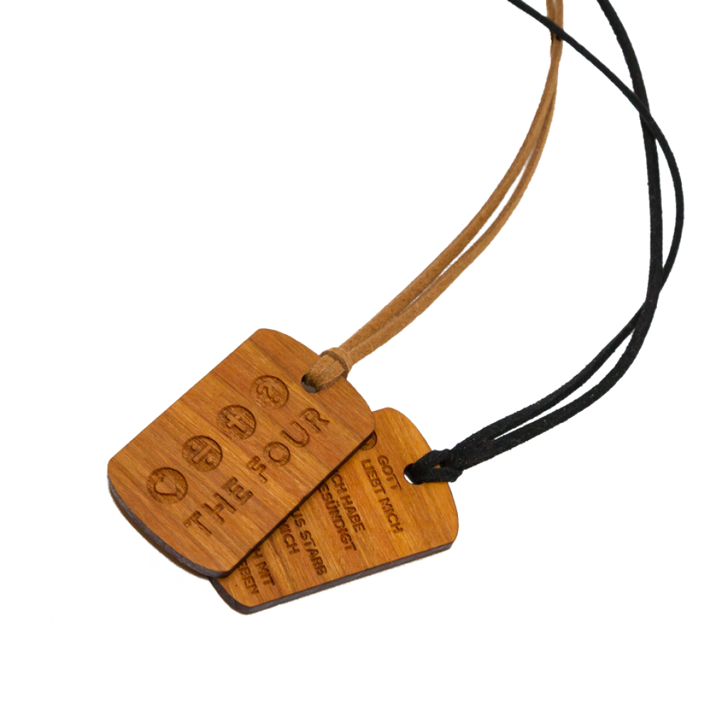 Holz Dog Tag
