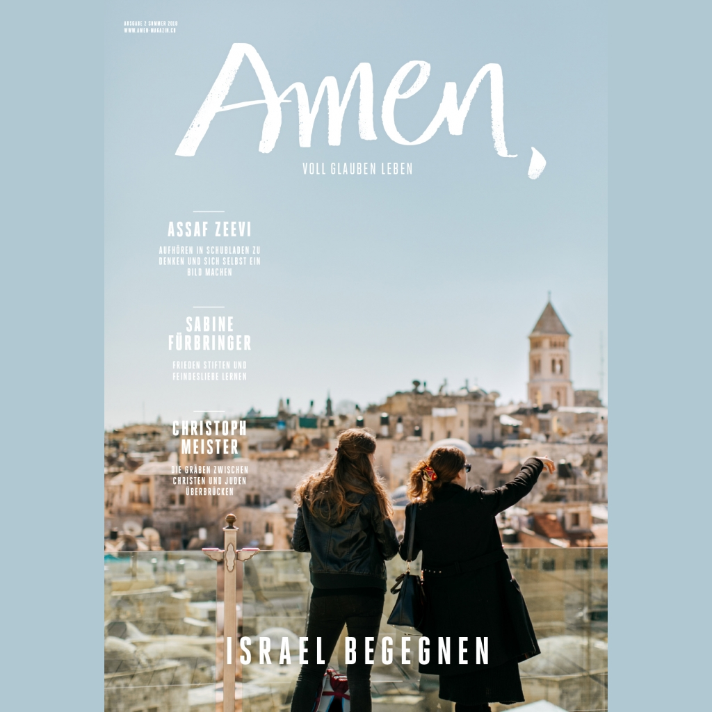 Amen Sommerausgabe 2018 - Israel begeg..