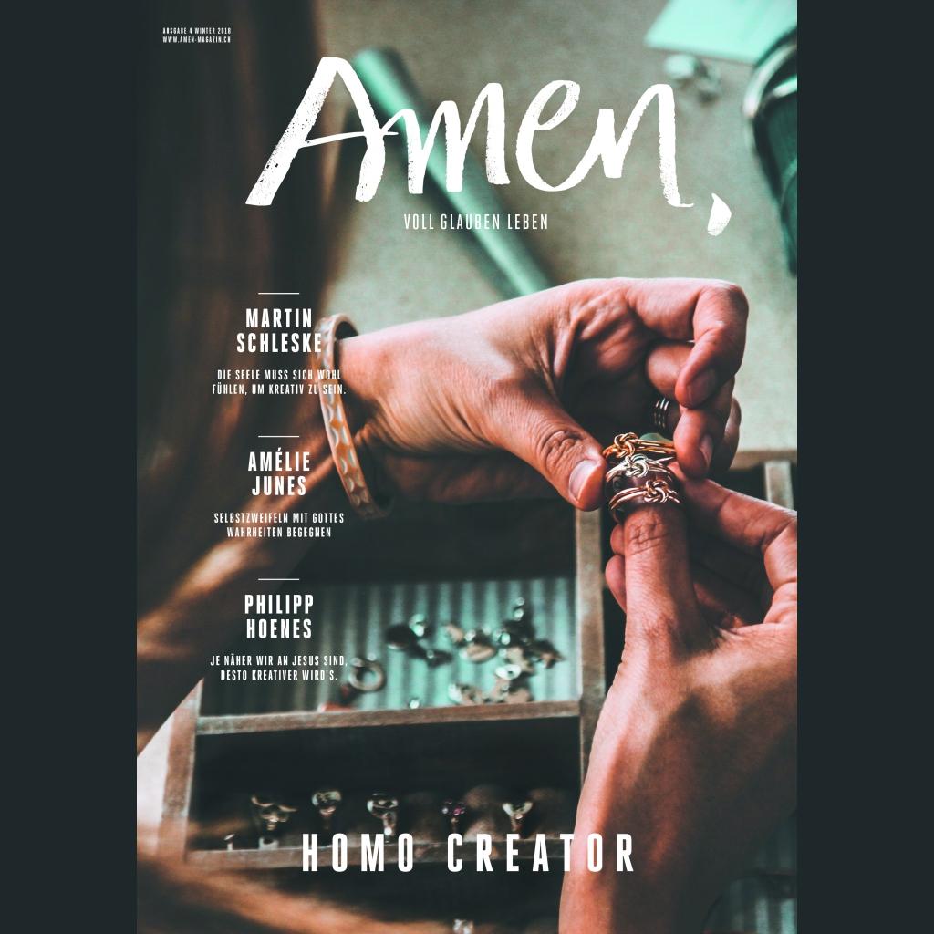 Amen Winterausgabe 2018 - Homo Creator
