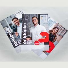 Werbeposter A4, 12er Pack, 3 verschied..