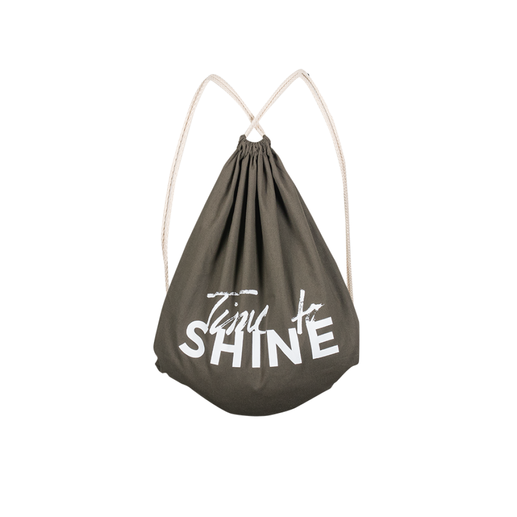 SHINE Gym Bag Time to SHINE olive