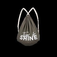 SHINE Gym Bag Time to SHINE olive