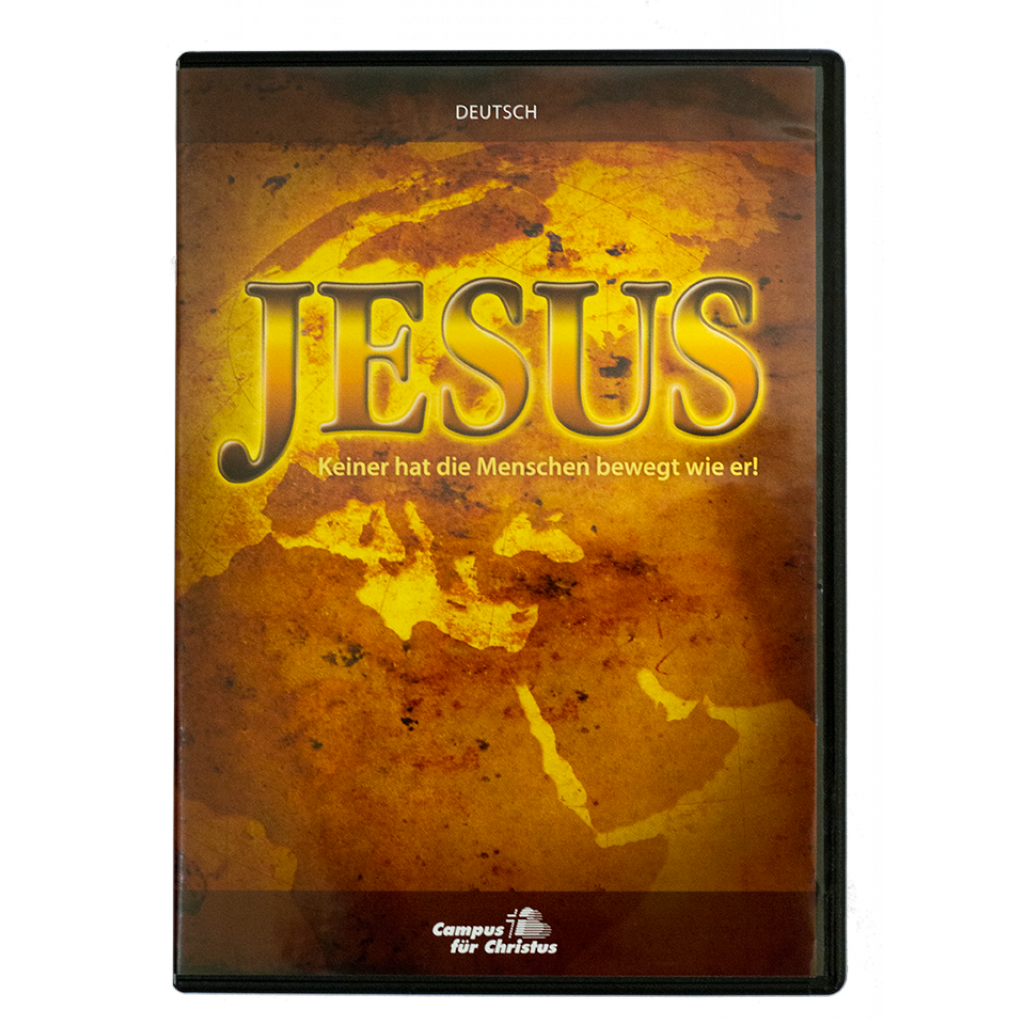 Jesus-Film DVD deutsch 84 min.