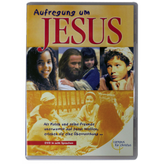 DVD Aufregung um JESUS, 8 Sprachen, 62 Min.